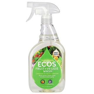 Earth Friendly Products, Ecos, Fruit + Veggie Wash, 22 fl oz (650 ml)