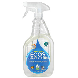 Earth Friendly Products, Ecos, Shower Cleaner, Tea Tree, 22 fl oz (650 ml)
