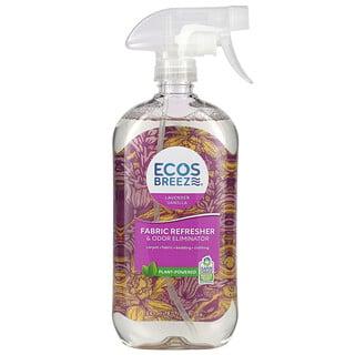 Earth Friendly Products, Ecos Breeze, Fabric Refresher & Odor Eliminator, Lavender Vanilla, 20 fl oz (591 ml)