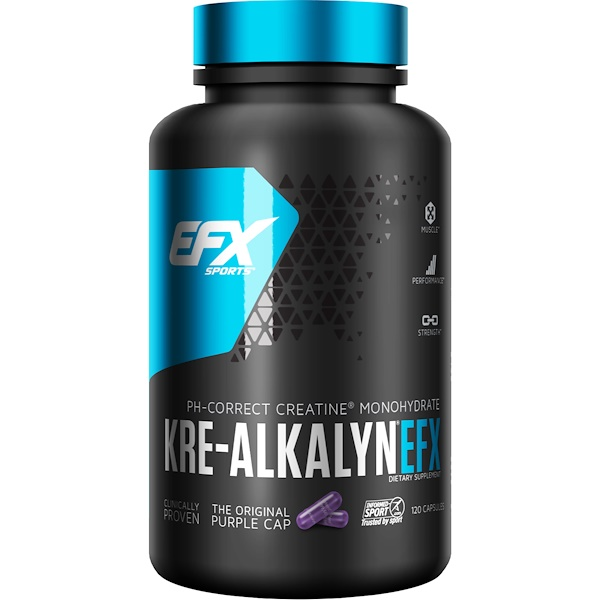 EFX Sports, Kre-Alkalyn EFX, 120 כמוסות