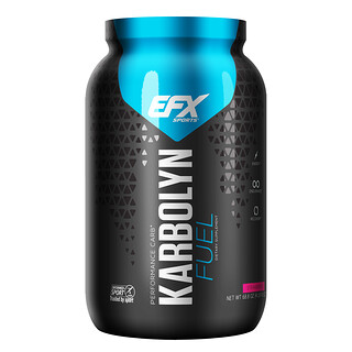 EFX Sports, Karbolyn Fuel, Strawberry, 4.3 lbs (2000 g)