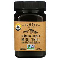 Egmont Honey, 麥盧卡蜂蜜,未加工且未經巴氏殺菌,150+ MGO,17.6 盎司(500 克)