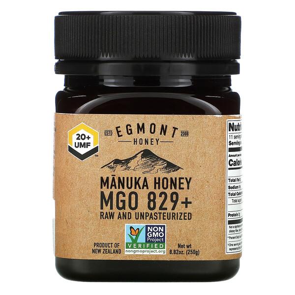 Manuka Honey, Raw And Unpasteurized, 829+ MGO,  8.82 oz (250 g)