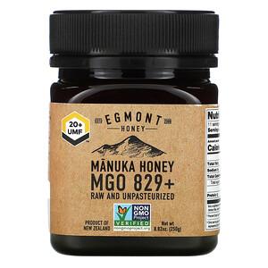 Egmont Honey, Manuka Honey, Raw And Unpasteurized, 829+ MGO,  8.82 oz (250 g)