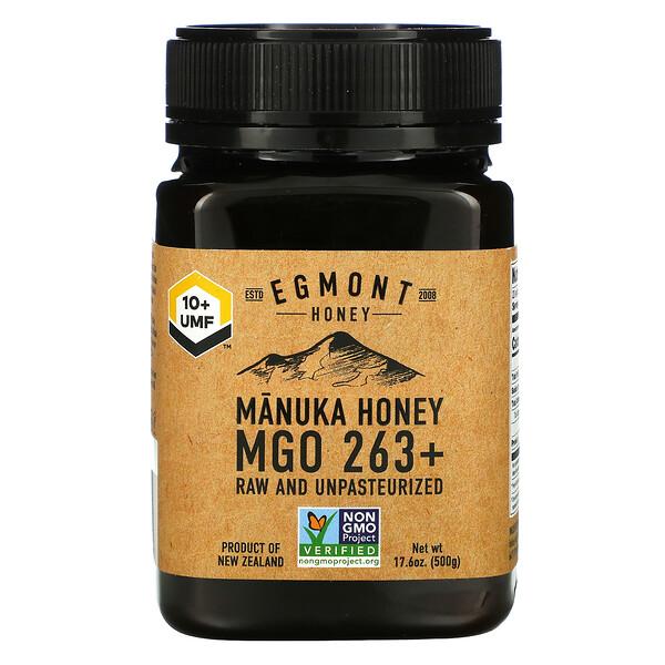 Manuka Honey, Raw And Unpasteurized, 263+ MGO, 17.6 oz (500 g)