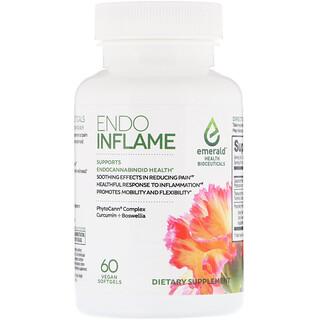 Emerald Health Bioceuticals, EndoInflame, 60 Vegan Softgels