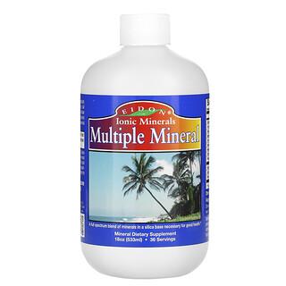 Eidon Mineral Supplements, Multiple Mineral, 18 oz (533 ml)
