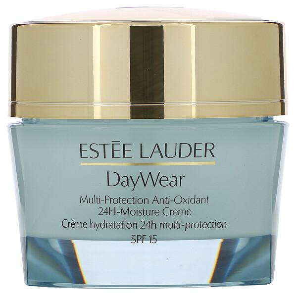 Estee Lauder, DayWear, Multi-Protection Anti-Oxidant 24H-Moisture Cream, SPF 15, Dry Skin, 1.7 oz (50 ml) (Discontinued Item)