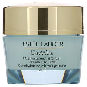 Estee Lauder, DayWear, Multi-Protection Anti-Oxidant 24H-Moisture Cream, SPF 15, Dry Skin, 1.7 oz (50 ml) отзывы