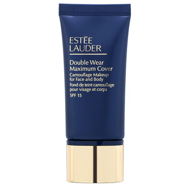 Estee Lauder, Double Wear Maximum Cover, SPF 15, 2C5 Creamy Tan, 1 fl oz (30 ml)