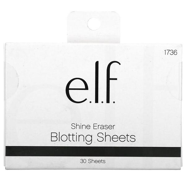 Shine Eraser Blotting Sheets, 30 Sheets