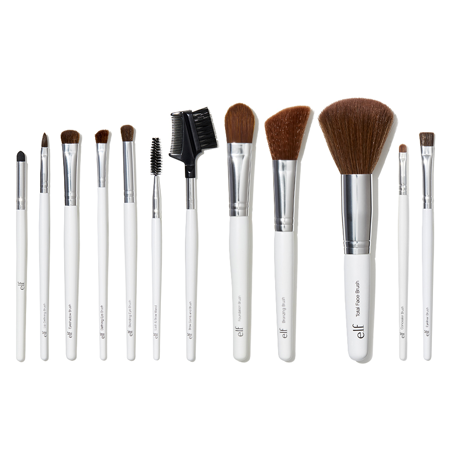 E L F Cosmetics Essential Professional Complete Brush Set 12