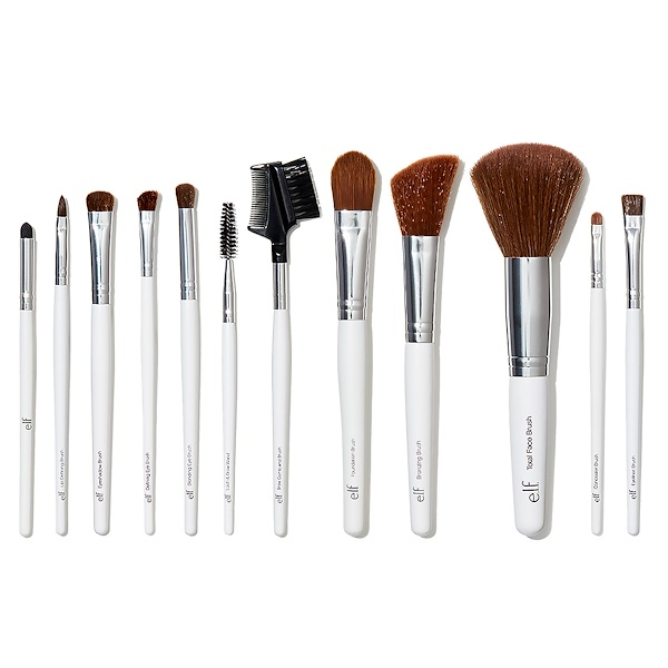 E.L.F., Essential Professional Complete Brush Set, 12 Brushes