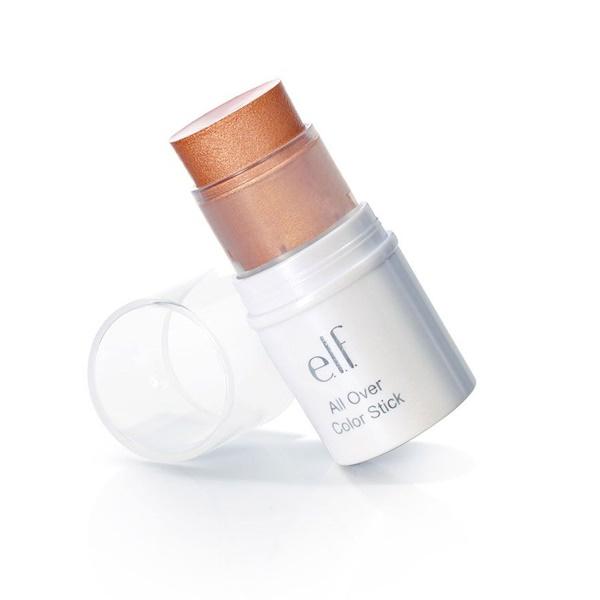 E.L.F., All Over Color Stick, Golden Peach, 0.14 oz (4 g) (Discontinued Item)