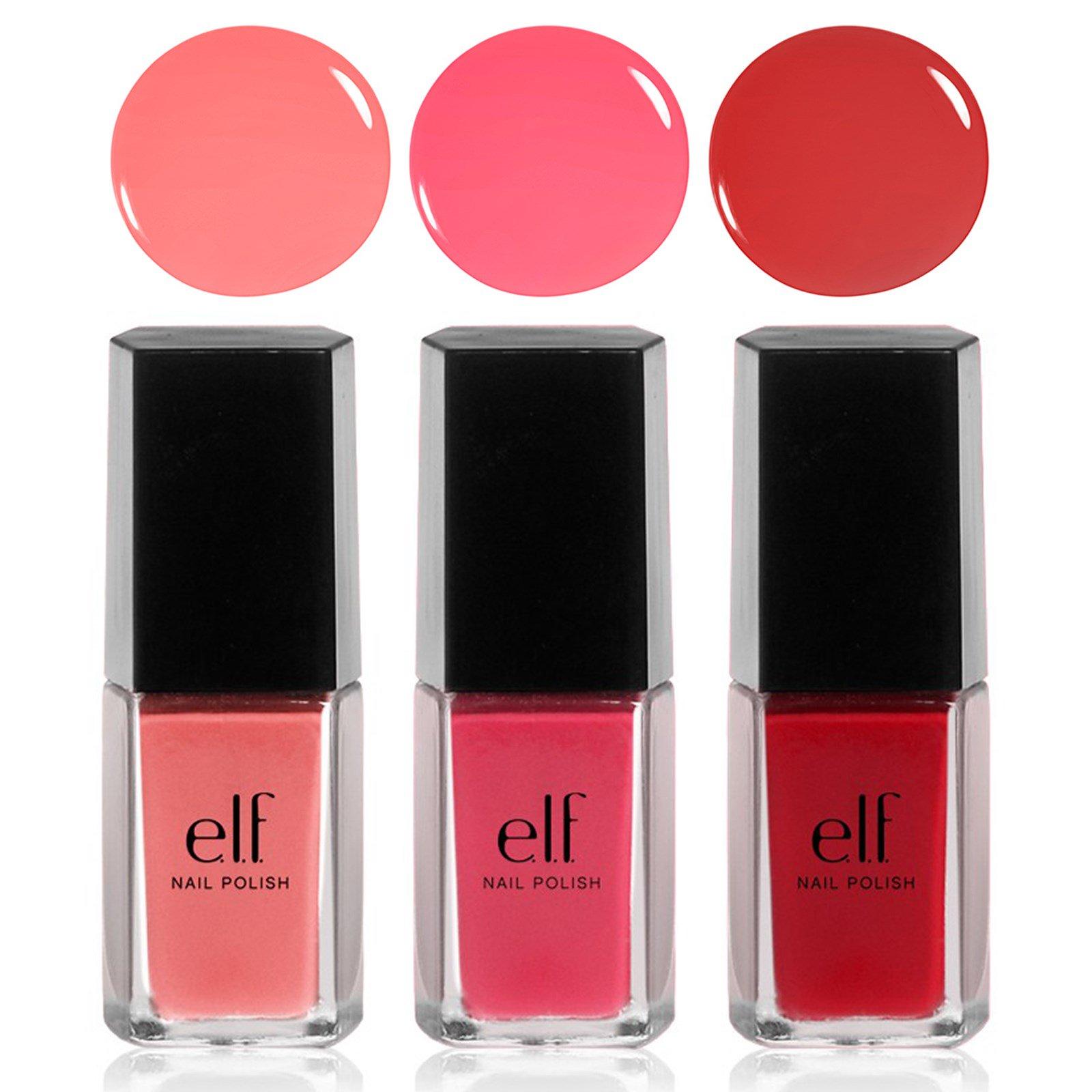 E.L.F. Cosmetics, Set de pintura de uñas Beach Party, 0.203 fl oz (6 ...