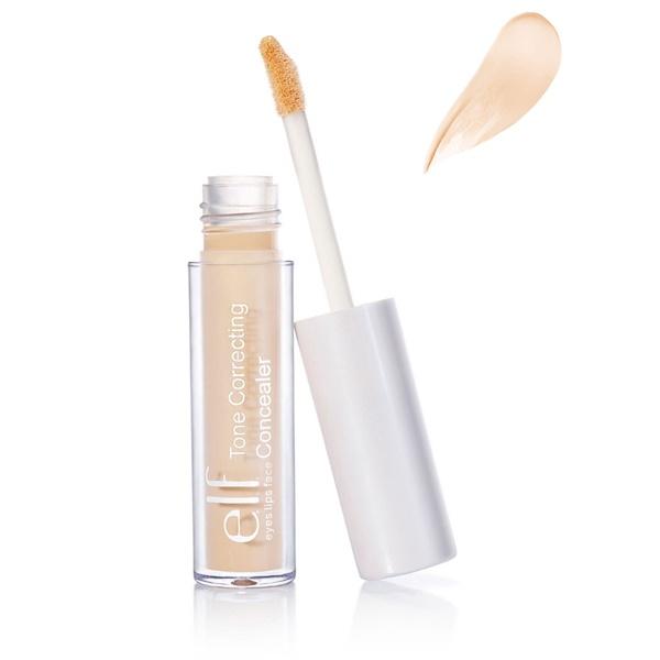 E.L.F. Cosmetics, Tone Correcting Concealer, Ivory, 0.08 oz (2.3 g) (Discontinued Item)