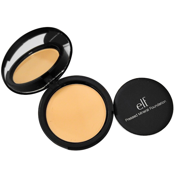 E.L.F., Pressed Mineral Foundation, Light, 0.42 oz (12 g) (Discontinued Item)