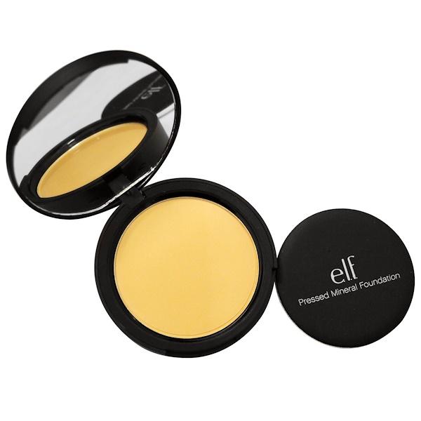 E.L.F., Pressed Mineral Foundation, Warm, 0.42 oz (12 g) (Discontinued Item)