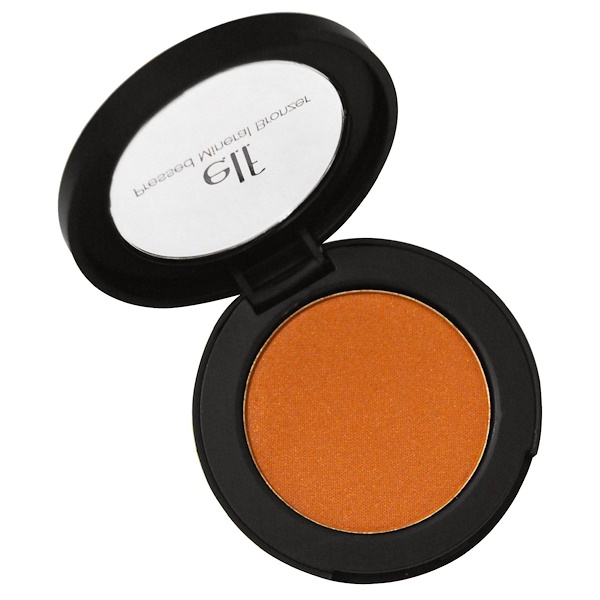 E.L.F., Pressed Mineral Bronzer, Caramel Cabana, 0.14 oz (4 g) (Discontinued Item)