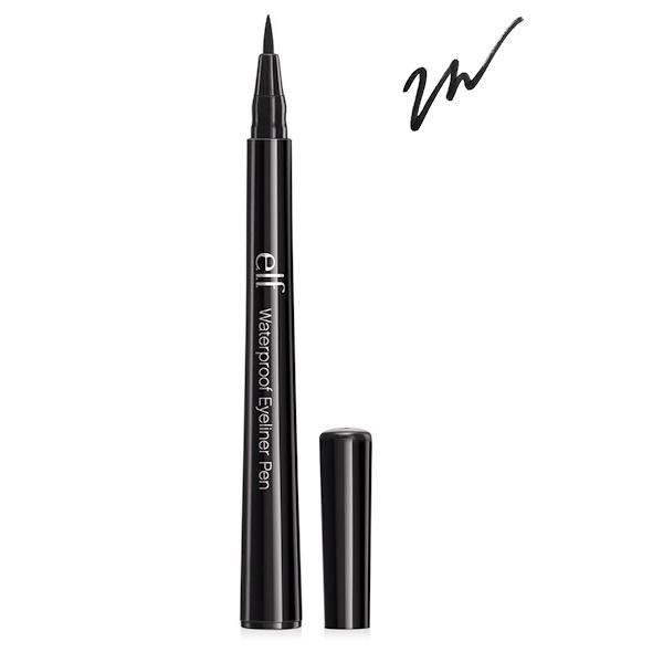 E.L.F. Cosmetics, Waterproof Eyeliner Pen, Black, 0.06 oz (1.8 g) (Discontinued Item)