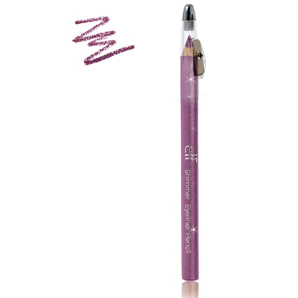 E.L.F., Shimmer Eyeliner Pencil, Plum Passion, 0.05 oz (1.38 g) (Discontinued Item)