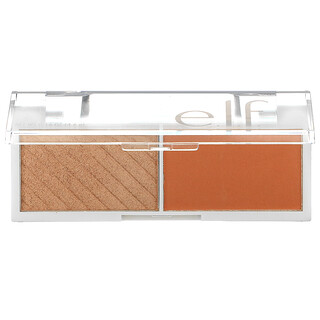 E.L.F., Bite Size Face Duo, White Peach, 0.16 oz (4.6 g)