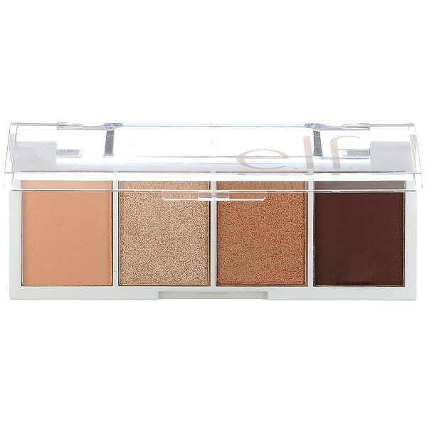 E.L.F., Bite Size Eyeshadow, Cream & Sugar, 0.12 oz (3.5 g)
