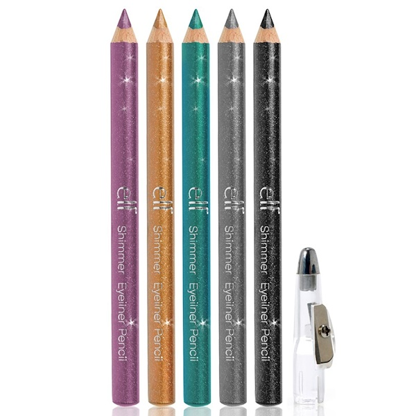 E.L.F., Shimmer Eyeliner Pencils, 5 Piece Set, 0.25 oz (6.9 g) (Discontinued Item)