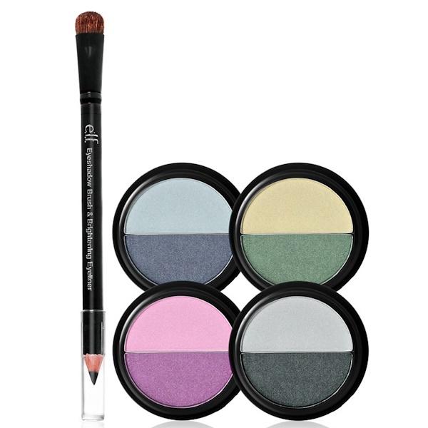 E.L.F. Cosmetics, 5 Piece Eyeshadow Set, Night, 0.56 oz (16 g) (Discontinued Item)
