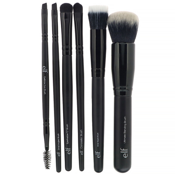 Flawless Face Kit, 6 Piece Brush Collection