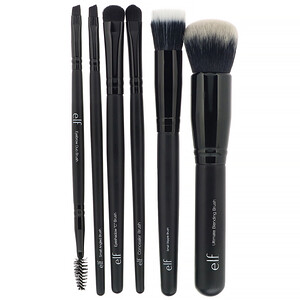 ЕЛФ Косметикс, Flawless Face Kit, 6 Piece Brush Collection отзывы покупателей