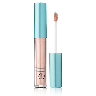 E.L.F. Cosmetics, 아쿠아 뷰티, 몰튼 리퀴드 아이섀도, 로즈 골드, 0.09 oz (2.6 g)