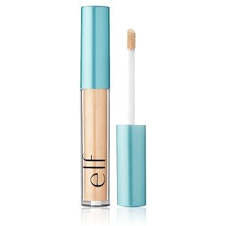 E.L.F. Cosmetics, 아쿠아 뷰티, 몰튼 리퀴드 아이섀도, 리퀴드 골드, 0.09 oz (2.6 g)