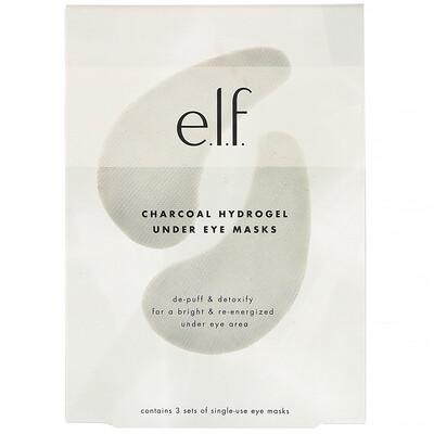 E.L.F. угольные гидрогелевые маски для зоны под глазами, 3набора  - купить со скидкой