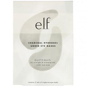 ЕЛФ Косметикс, Charcoal Hydrogel Under Eye Masks, 3 Piece Set отзывы