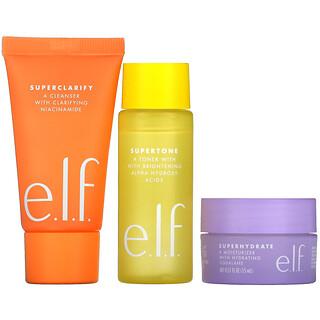 E.L.F., Supers Skincare Mini Trio, 3 Piece Set