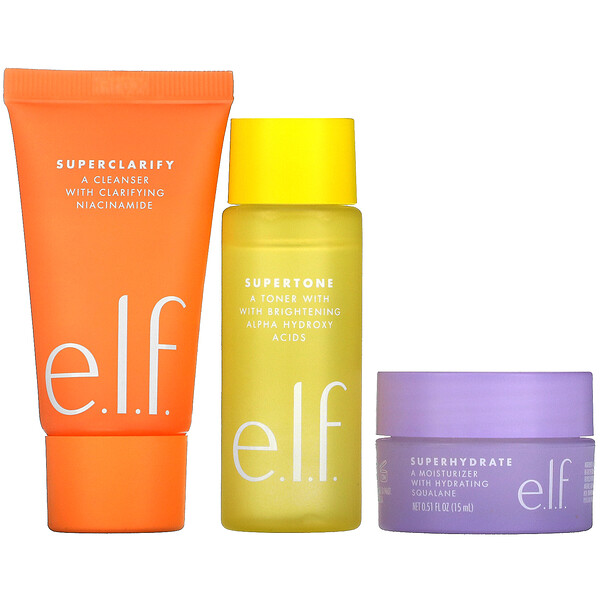 Supers Skincare Mini Trio, 3 Piece Set