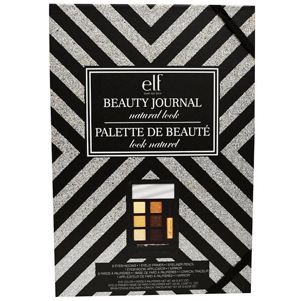 E.L.F., Beauty Journal Natural Look Set, 10 Piece Set (Discontinued Item)