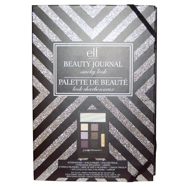 E.L.F. Cosmetics, Beauty Journal, Smoky Look, 1 Palette (Discontinued Item)
