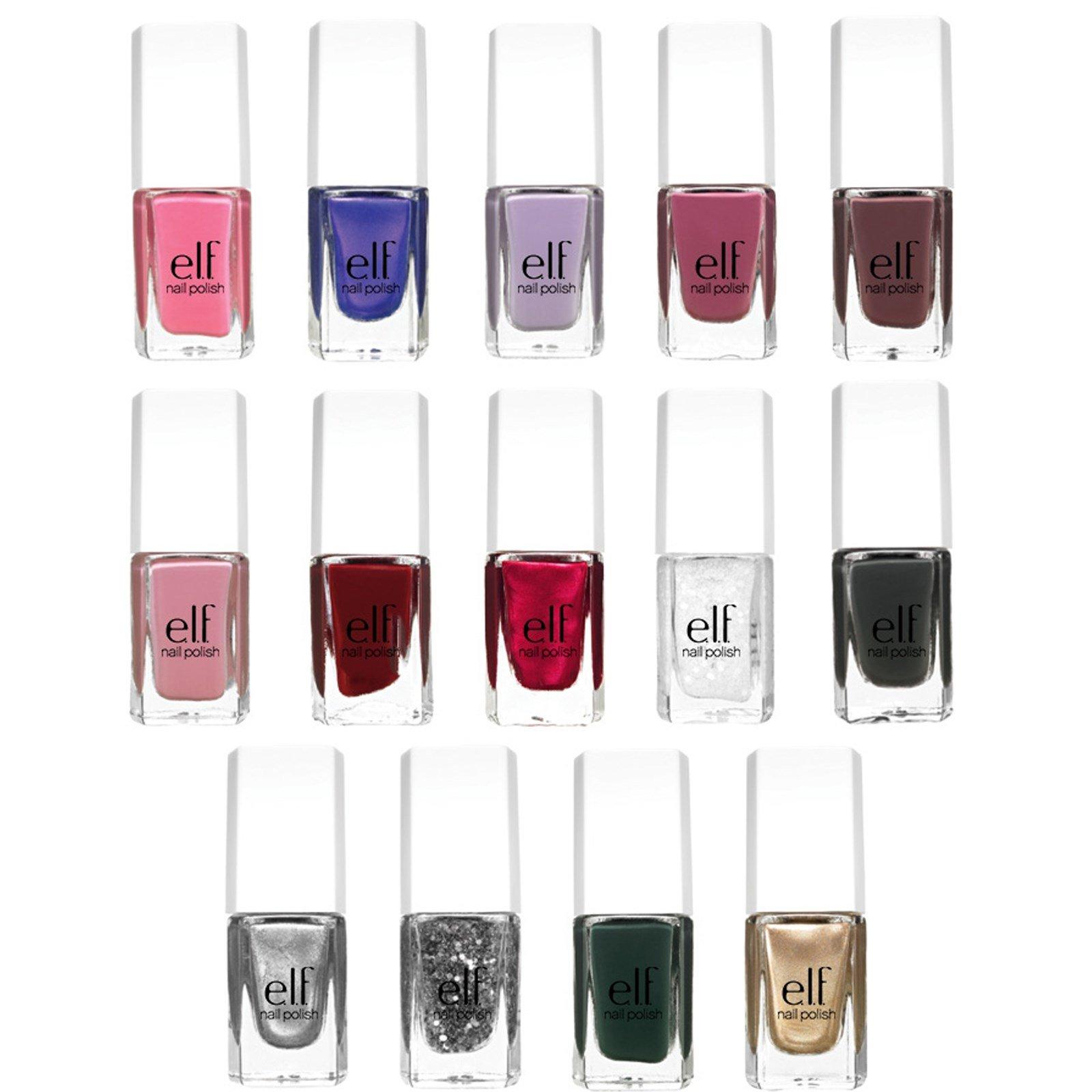 E.L.F. Cosmetics, Nail Polish Set, 14 Pieces - iHerb.com