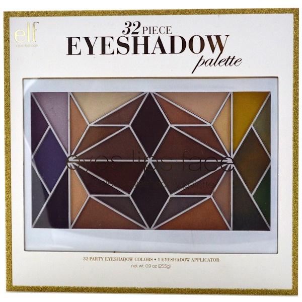 E.L.F. Cosmetics, Eyeshadow Palette, 32 Piece, 0.9 oz (25.5 g) (Discontinued Item)