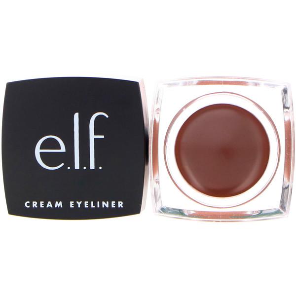 E.L.F. Cosmetics, Cream Eyeliner, Coffee, 0.17 oz (4.7 g)