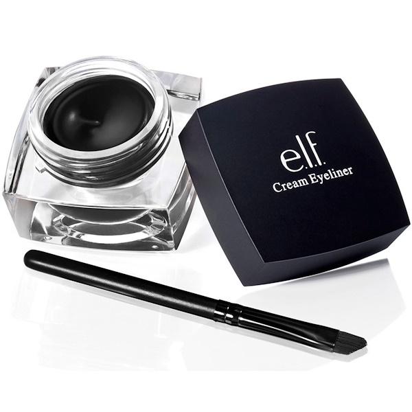 E.L.F. Cosmetics, クリーム・アイライナー, 黒, 0.17 oz (4.7 g)