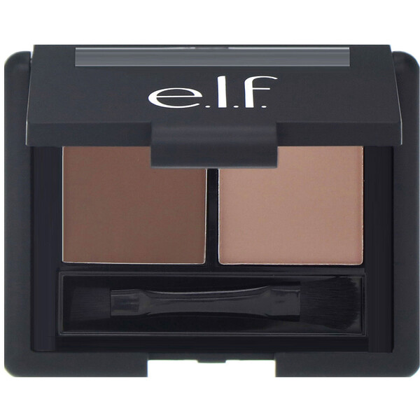 Eyebrow Kit, Gel & Powder, Light, 0.05 oz (1.4 g), 0.08 oz (2.3 g)