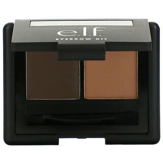 E.L.F., Eyebrow Kit, Gel & Powder, Medium, Gel 0.045 oz (1.3 g) - Powder 0.063 oz (1.8 g)
