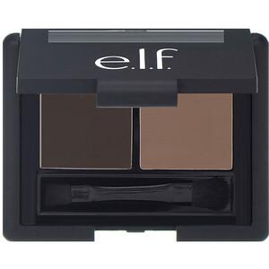 ЕЛФ Косметикс, Eyebrow Kit, Gel & Powder, Medium, Gel 0.05 oz (1.4 g) — Powder 0.08 oz (2.3 g) отзывы покупателей