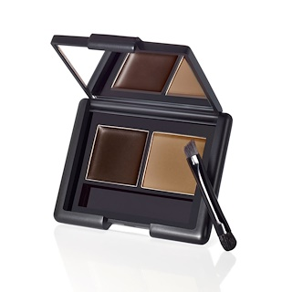 E.L.F. Cosmetics, مجموعة حواجب، چيل/مسحوق، داكن، 0.12 أونصة (3.5 جم)