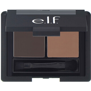 E.L.F. Cosmetics, Eyebrow Kit, Gel & Powder, Dark, Gel 0.05 oz (1.4 g) Powder 0.08 oz (2.3 g)