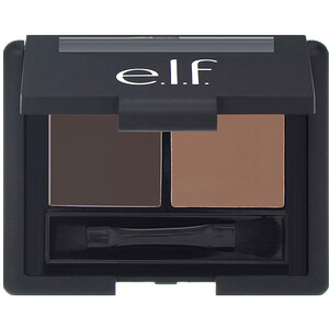 ЕЛФ Косметикс, Eyebrow Kit, Gel & Powder, Dark, Gel 0.05 oz (1.4 g) Powder 0.08 oz (2.3 g) отзывы покупателей
