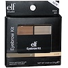 E.L.F. Cosmetics, Eyebrow Kit, Gel & Powder, Ash, 0.123 oz (3.5 g)